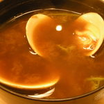 玉造 すし富 - 蛤の赤出汁