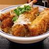 かつや - 料理写真:海老・ヒレ・メンチカツ丼【682円】