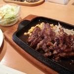 Sutekinokuishimbo - 牛、鶏、合挽きと総てが揃う特製ランチ( ̄ー ̄)b