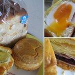 ベイクショップ カーメル - ぶどう食パン 半熟たまご ブルーベリー