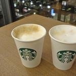 スターバックスコーヒー - カプチーノを飲みながら〜♬