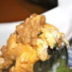 居酒屋まんま - 納豆アップ 玉子焼きマヨネーズと醤油をかけて旨かった!