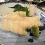 富小路 春隆 - 季節の魚 ぐじのお造り