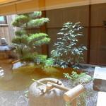 味 ふくしま - 京都らしさを感じる坪庭