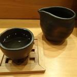 鮨やまと - 日本酒(長命泉・浦霞・黒龍を各1合いただく)