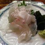魚魚魚 - ヒラメの造り