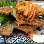魚魚魚 - 小アジ南蛮