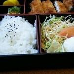 フライヤ - 和風トンカツ定食 1050円