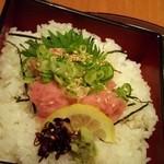 川太郎 - ハーフネギトロ丼