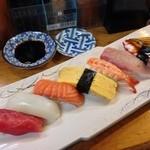 活兵衛 - お寿司セット♩飲み物1つと合わせて1000円ヾ(@⌒ー⌒@)ノ