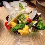 ひろとし - 山菜サラダ