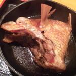 ほっほぉ~カマの肉厚な部分で身がたっぷり!!!