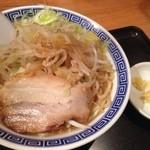 山岸一雄製麺所 - 角ふじ麺(750円)