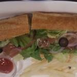 24137867 - 生ハムのサンドイッチ