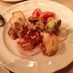 アッラ・クチーナ・デル・ソーレ - [1回目]野菜のカリッとしたフライ( ハーフ・900円)