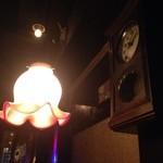 猿楽珈琲 - 古時計