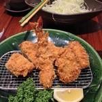 24140118 - 牡蠣盛合せ膳(2014/02)