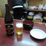 中華料理 桃園 - サッポロ黒ラベル600円