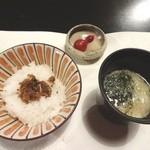 ふじ石亭 - ご飯等