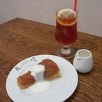 ヌーベルバーグKYOTO - タルトタタンセット(750円)