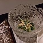 日本料理 羽衣 - ほうれん草の胡麻浸し