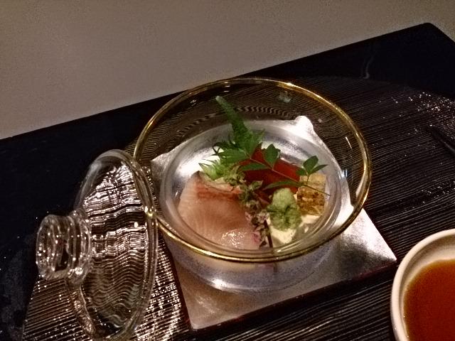 日本料理 羽衣 - お造り ふり、マグロ