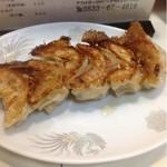 一心軒 - 餃子  400円