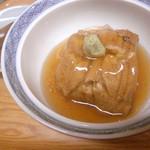 ちゃんこ雷光 - あつあつ穴子豆腐