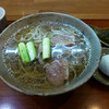 Teuchisobayayamatomorito - 料理写真:鴨そば