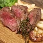 イタリアン&肉バル 北の国バル - 北海道産黒毛和牛グリル