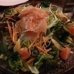 ムサシマルカフェ - 武蔵丸サラダ