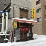 わらじ亭 - ぽつんと取り残された看板建築のお店