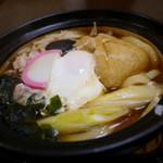 うどん処 杉 - なべ焼きうどん(800円)
