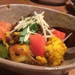 カッチャル バッチャル - 北インド地方の野菜カレー