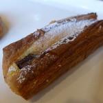 粉とクリーム - 料理写真:ショコラ王子のショコラショコラ(136円)