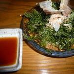和食個室×とろろしゃぶしゃぶ にっぽん市 - やっぱ「海ぶどう」は美味しいですな~♪