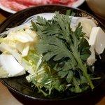 すみや - 黒毛和牛 すき焼き(野菜)