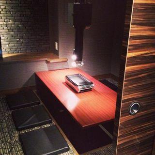 完全個室完備の落ち着いた雰囲気の空間
