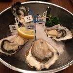 oisuta-ba-jakkupotto - 色々な産地の牡蠣
