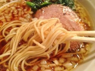 楽観 立川店 - 琥珀麺拡大