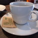 ピッツェリア ラ ジータ - マルゲリータ(ランチ)のコーヒー