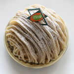 Sweets+Cafe' しゅくる - 和栗のモンブラン