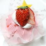 Sweets+Cafe' しゅくる - 苺のモンブラン