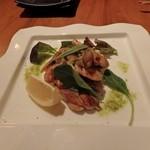 鉄板焼ビストロ よしむら - 鶏もも肉と野菜のソテー