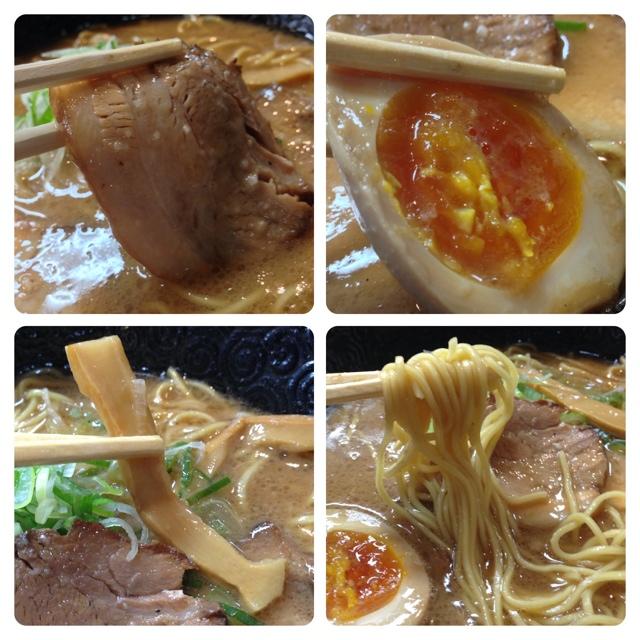 いちにいさん - 豚バラチャーシュー美味しい✨麺は細麺でスープは豚骨醤油です