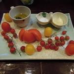 アジト - フルーツトマト4種盛り