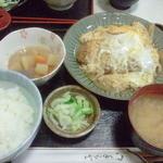 もも太郎 - かつ煮定食