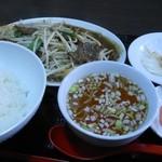キコウボウ - 料理写真:豚レバーの黒コショウ炒め