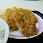 しん - 豚ロースカツ定食