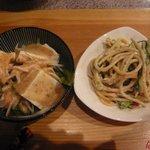 味葦庵 - サラダ2種